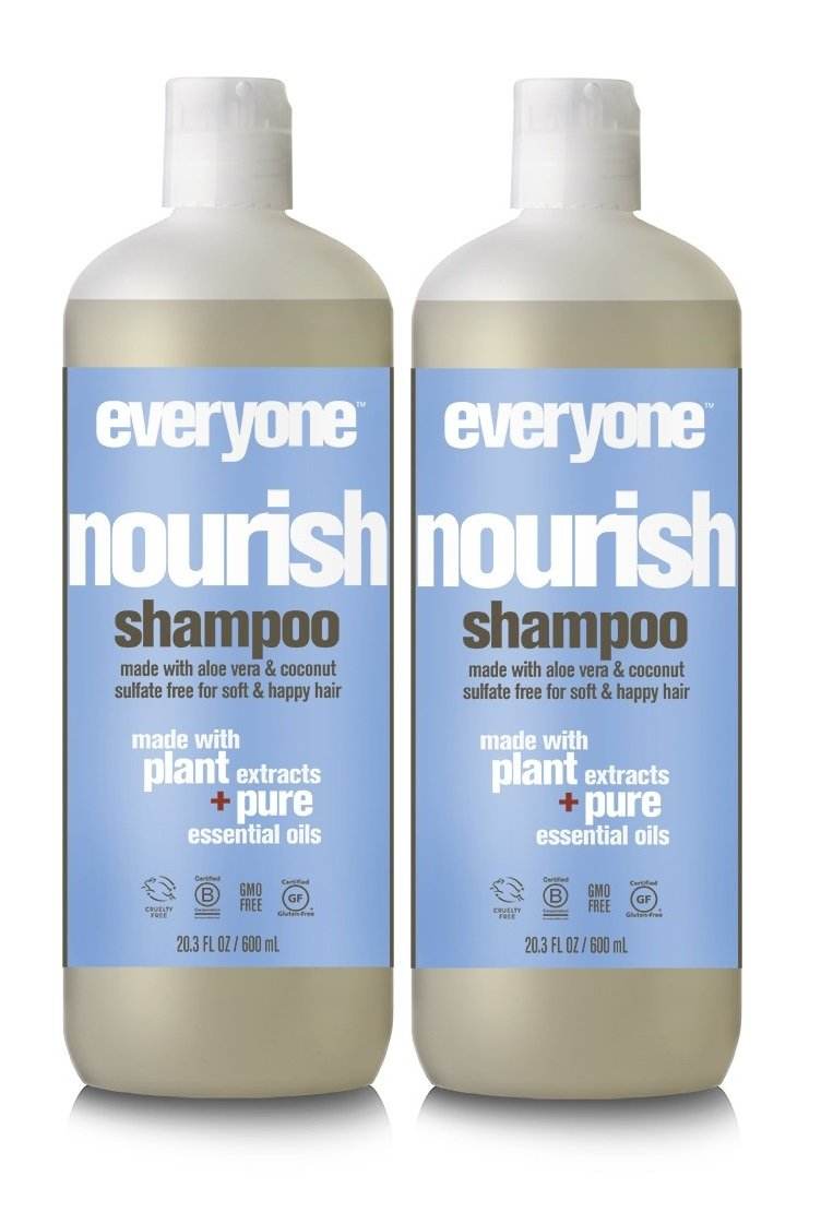 EO Everyone Sulfate Free Nourish Shampoo (Pack of 2)