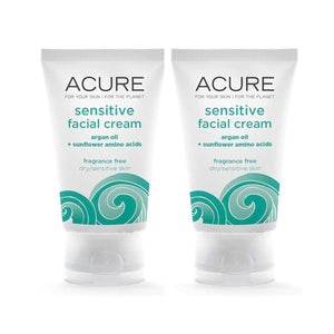 Acure Sensitive Facial Cream, 1.75 fl. oz. (Pack of 2)