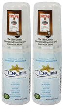 Dr. Mist Unscented Deodorant Mist (Pack of 2)
