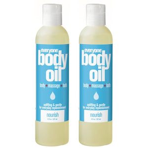 Everyone Nourish Body Oil, 8 fl. oz. (Pack of 2)