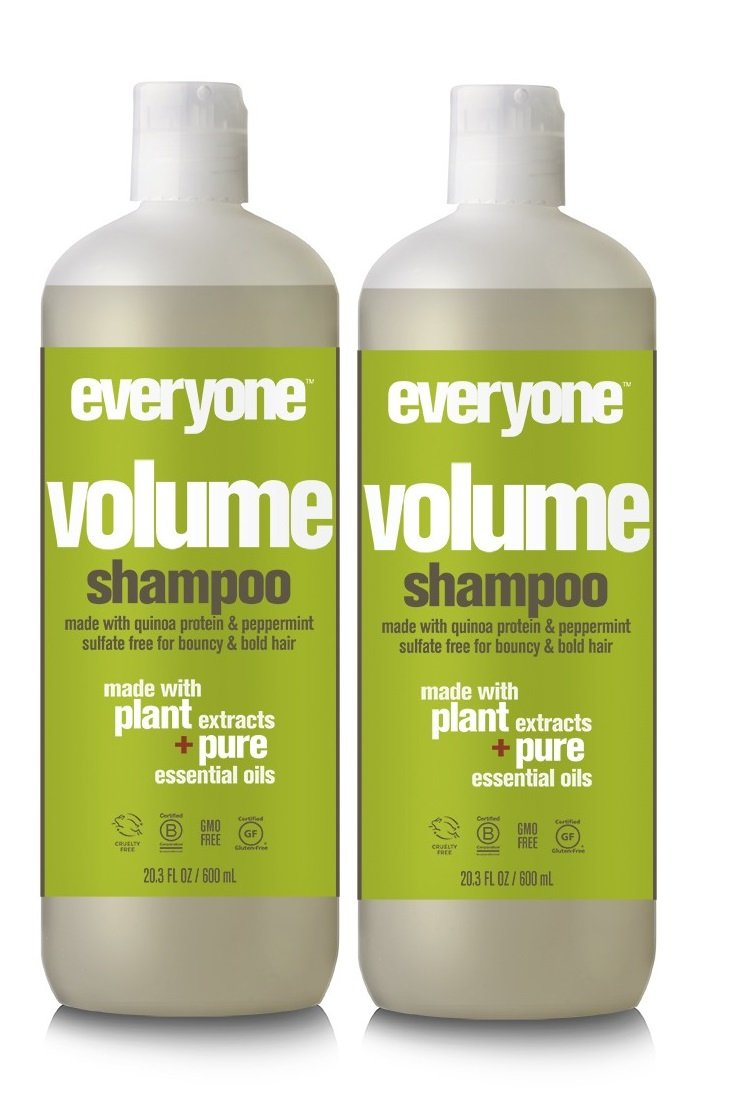 EO Everyone Hair Sulfate Free Volume Shampoo (Pack of 2)