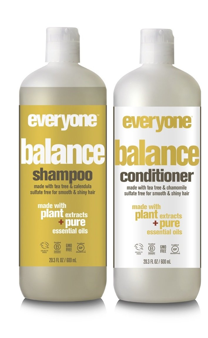 EO Everyone Sulfate Free Balance Shampoo and Conditioner Bundle