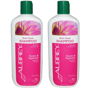 Aubrey Organics Biotin Repair Shampoo for All Hair Types