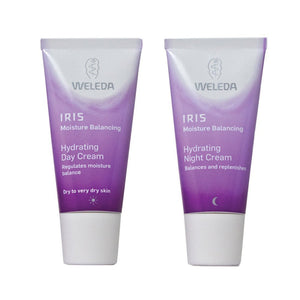 Weleda Iris Day Cream and Night Cream Bundle, 1 fl. oz. each