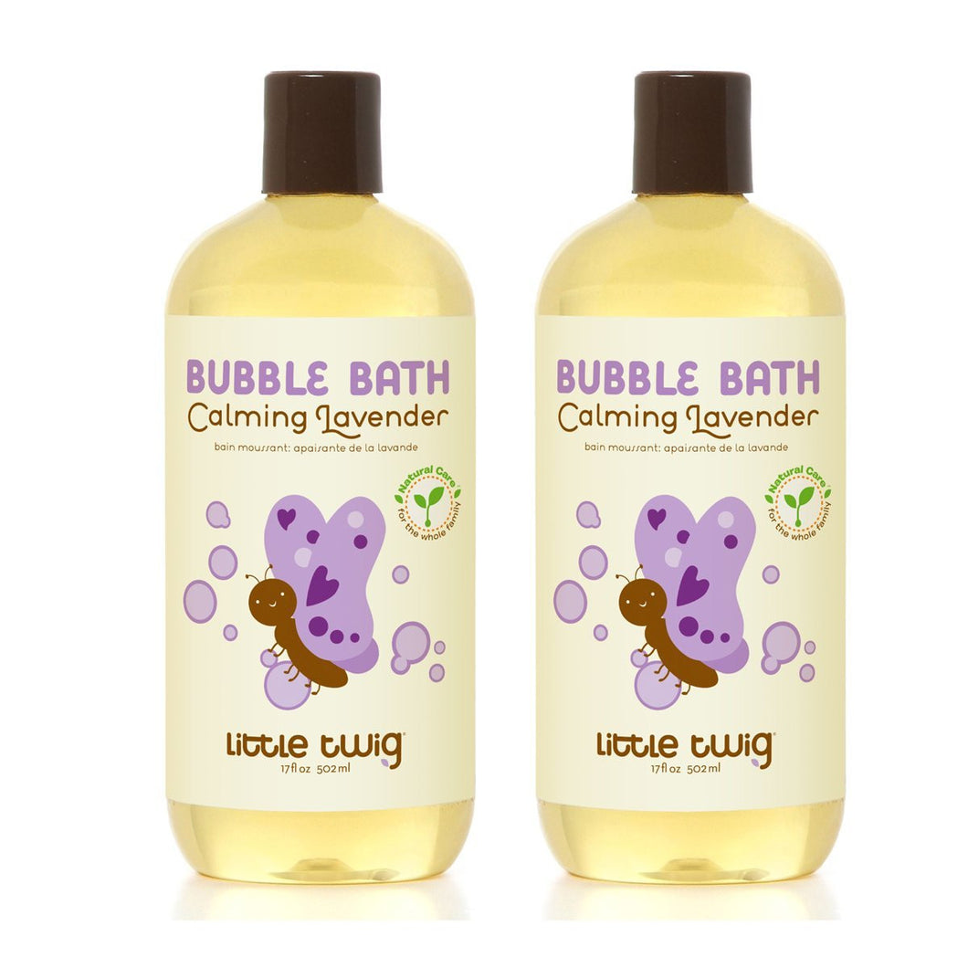 Little Twig Calming Lavender Bubble Bath, 8.5 fl. oz. (Pack of 2)