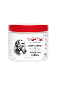 Thayer's Natural Remedies Original Astringent Pads - 60 Count Each