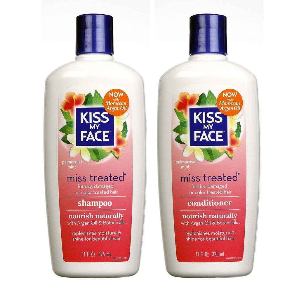 Kiss My Face Miss Treated Shampoo & Conditioner, 11 fl. oz. each