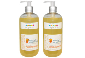 Nature's Baby Vanilla Tangerine Shampoo & Body Wash, 16 fl. oz. (Pack of 2)