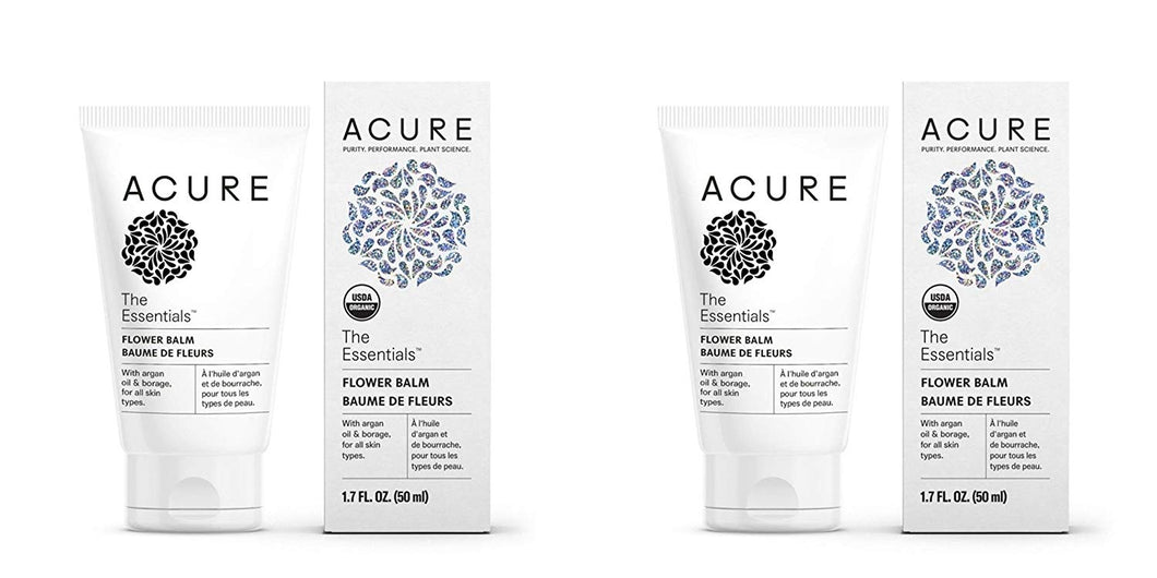 Acure Organics The Essentials Flower Balm (Pack of 2)