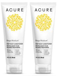 Acure Organics Deep Root Conditioner, 4 fl. oz. (Pack of 2)