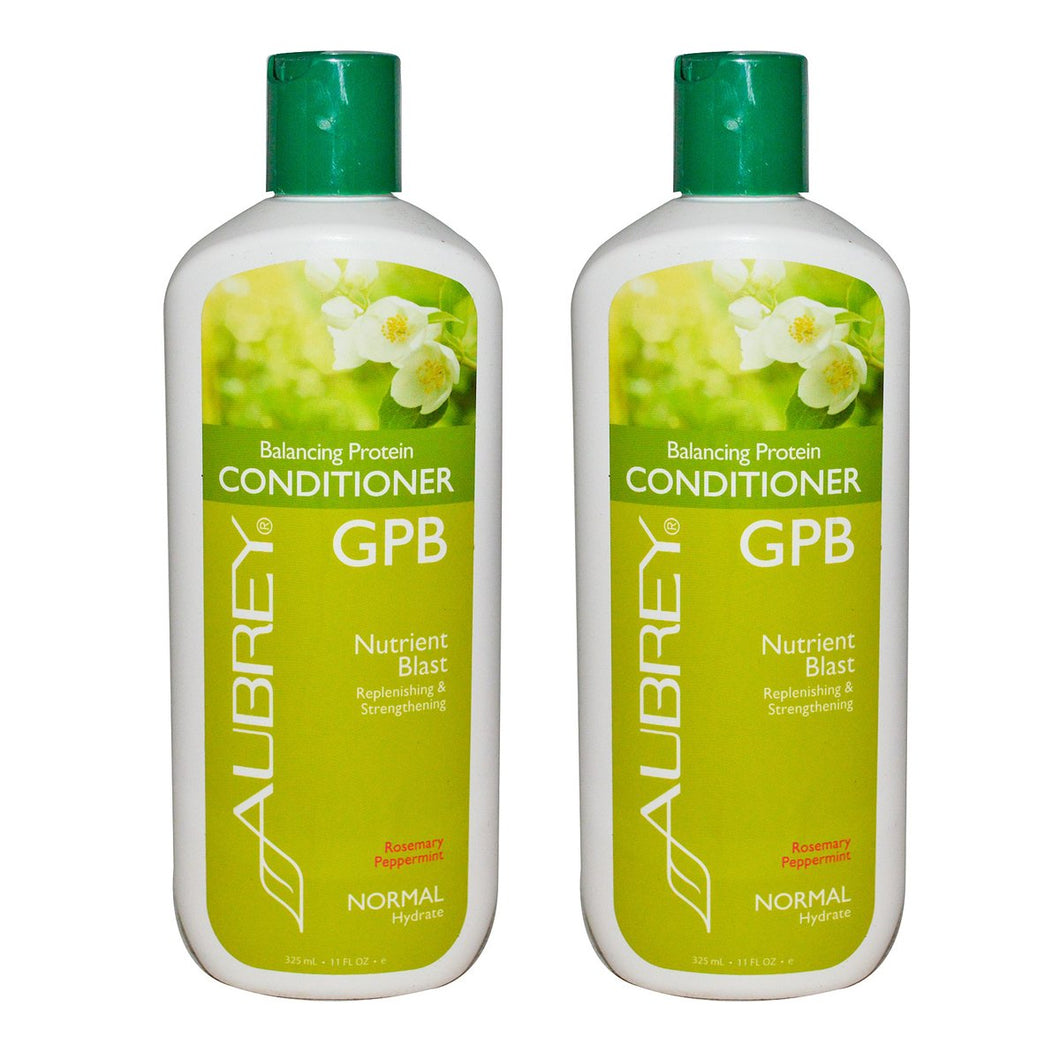 Aubrey Organics GPB Balancing Protein Conditioner Rosemary Peppermint