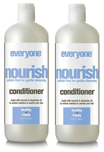 Everyone Hair Nourish Sulfate Free Conditioner (Pack of 2)