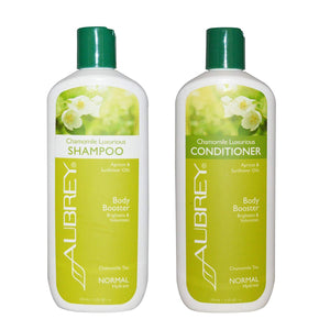 Aubrey Organics Chamomile Luxurious Shampoo and Aubrey Organics Chamomile Luxurious Conditioner Bundle