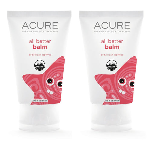 Acure Organics Baby All Better Balm, 1.75 fl. oz. (Pack of 2)