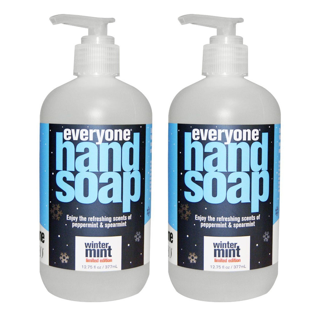 Everyone Winter Mint Hand Soap, 12.75 fl. oz. (Pack of 2)