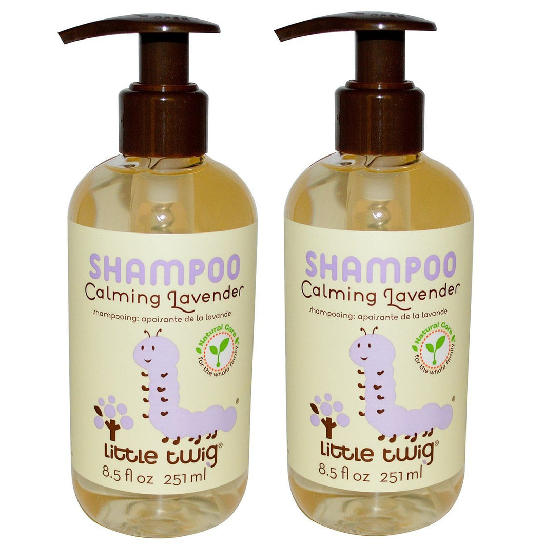 Little Twig Calming Lavender Shampoo, 8.5 fl. oz. (Pack of 2)