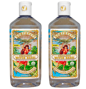 Humphrey's Certified Organic Witch Hazel, 16 fl. oz. (Pack of 2)