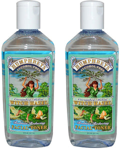Humphrey's Cucumber Melon Witch Hazel Facial Toner, 8 fl. oz. (Pack of 2)