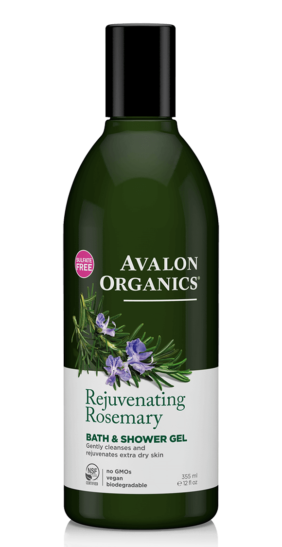 Avalon Organics Rejuvenating Rosemary Bath and Shower Gel