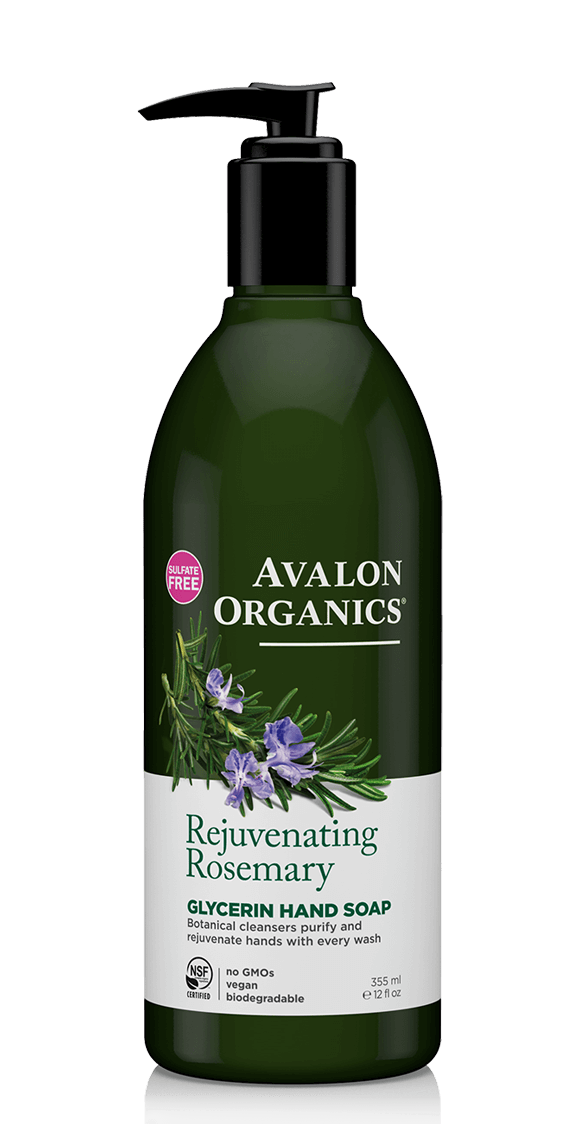 Avalon Organics Rejuvenating Rosemary Glycerin Hand Soap