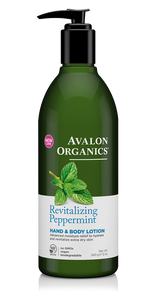 Avalon Organics Revitalizing Peppermint Hand and Body Lotion