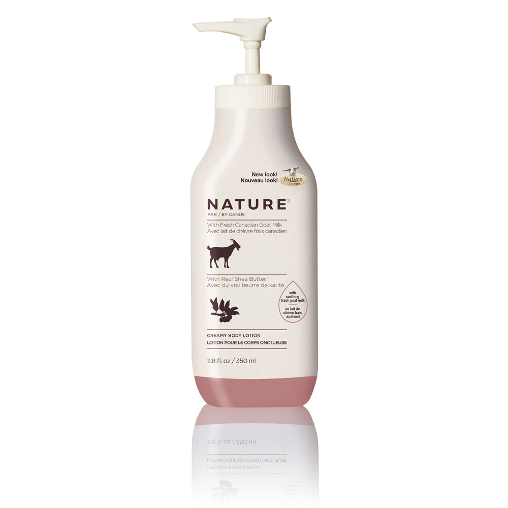 Nature by Canus Nature Creamy Body Lotion – Real Shea Butter