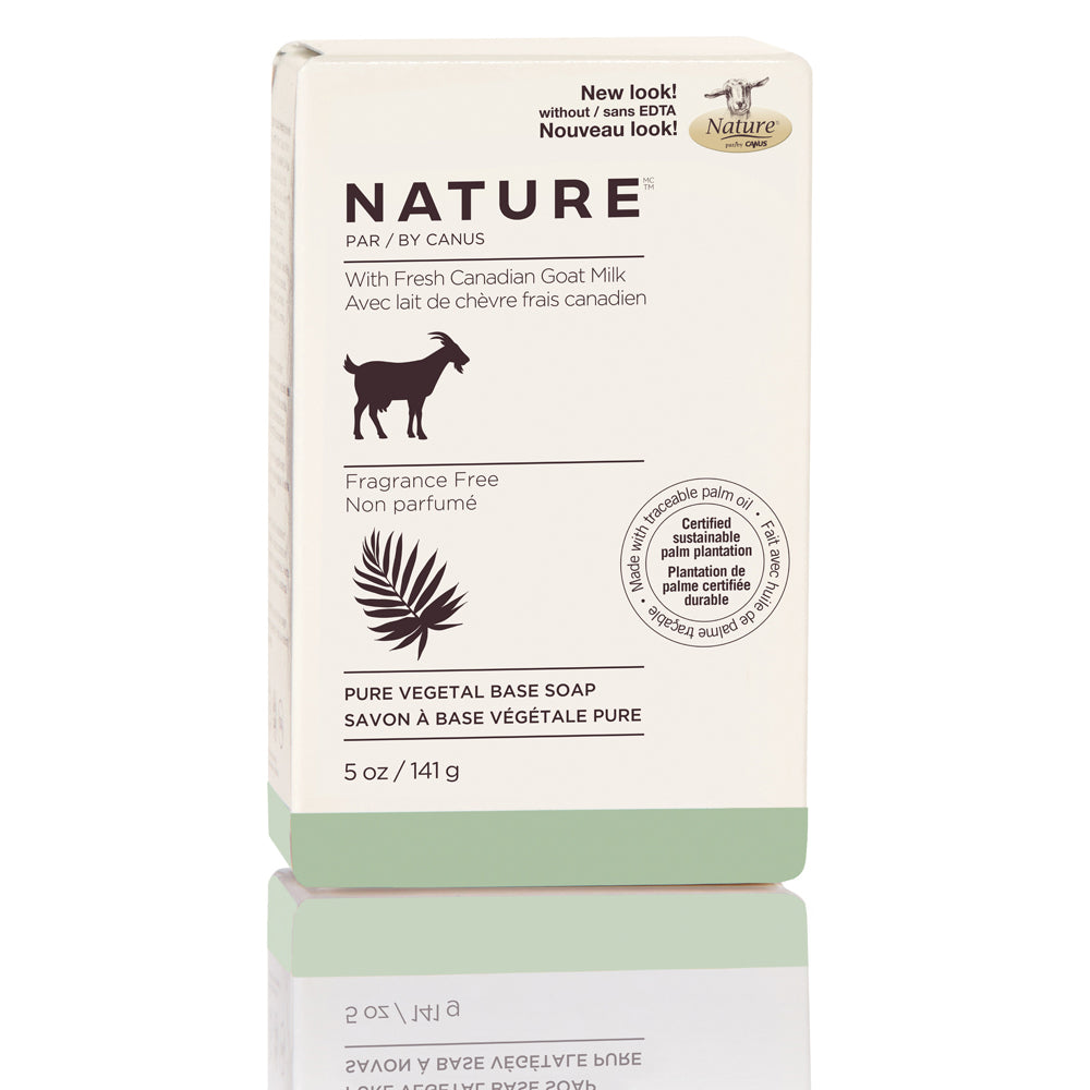 Nature by Canus Nature Pure Vegetal Base Soap Bar – Fragrance Free