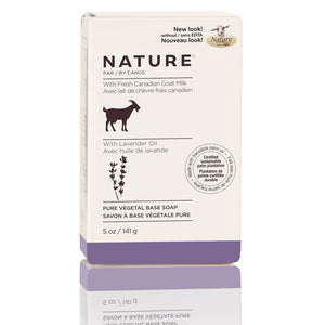 Nature by Canus Nature Pure Vegetal Base Soap Bar – Lavender Oil