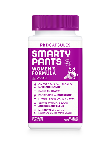 SmartyPants PhD Women's Formula - 60 Count