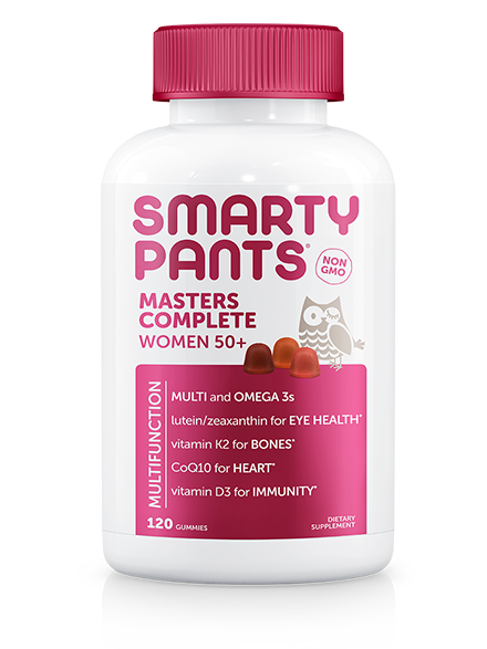 SmartyPants Masters Complete Women 50+ - 120 Count