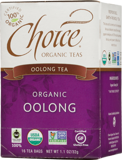 Choice Organic Oolong Tea Tea - 16 Count