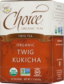 Choice Organic Teas Twig Kukicha Tea - 16 Count
