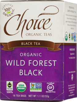 Choice Organic Teas Wild Forest Black Tea - 16 Count