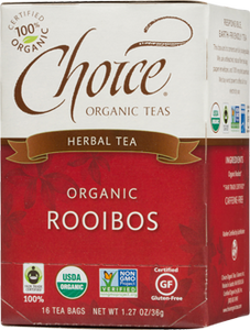 Choice Organic Teas Rooibos - 16 Count