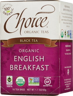Choice Organic Teas English Breakfast - 16 Count