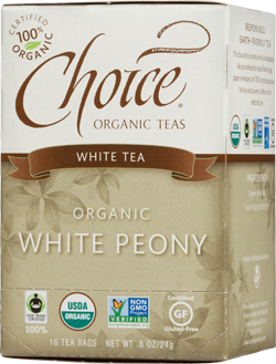 Choice Organic Teas White Peony Tea - 16 Count