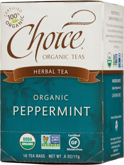 Choice Organic Teas Peppermint Tea - 16 Count