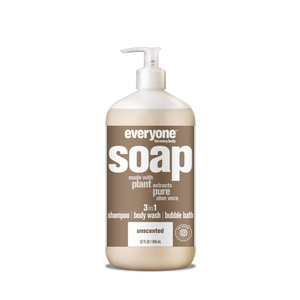 Everyone 3-in-1 Soap Unscented - 32 oz