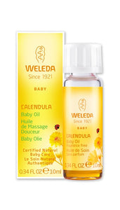 Weleda Calendula Baby Oil Travel Size - 10 ml