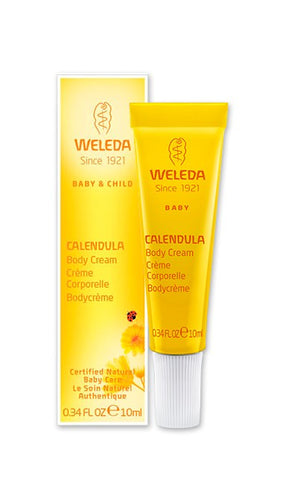 Weleda Baby Calendula Body Cream - Travel Size - 0.34 Oz
