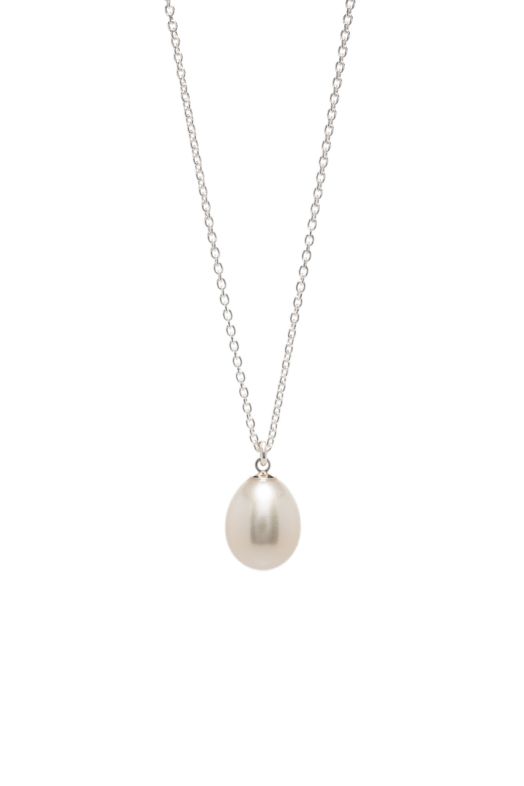 Freshwater Tear Drop Pearl Necklace