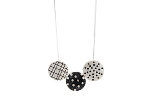 Trio Patterned Necklace