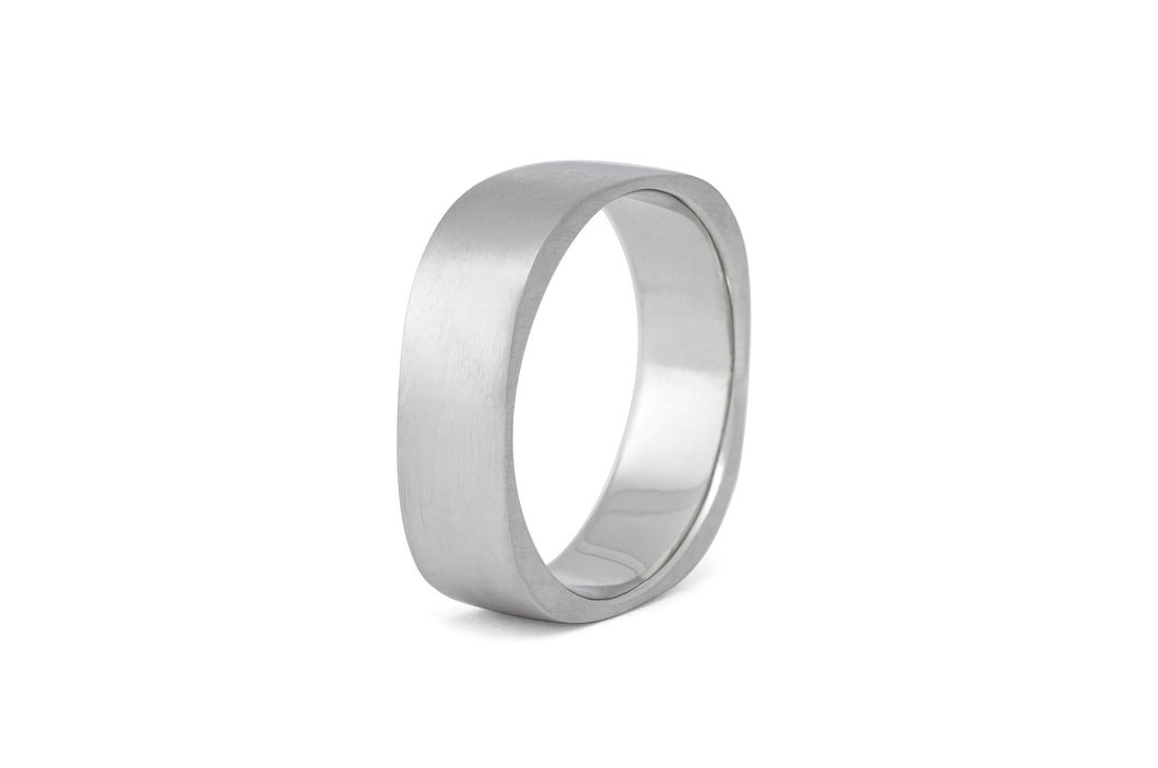 Square Wedding Band