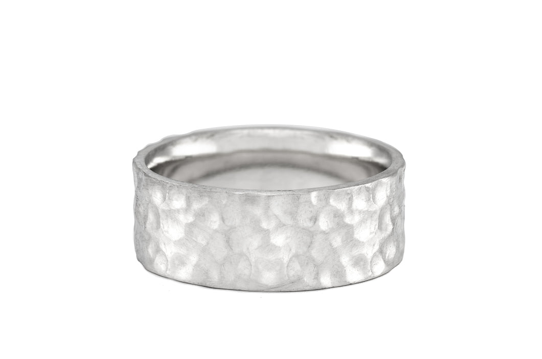 Wide Hammered Band