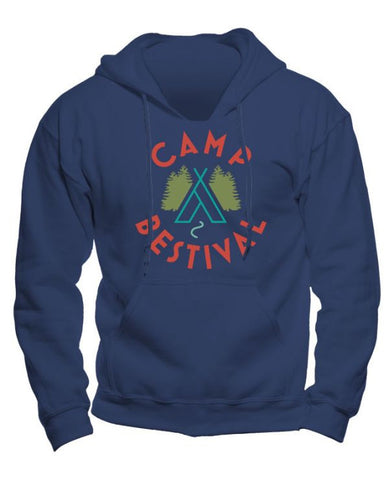 Camp Bestival 2015 'Wigwam Event' Royal Blue Youth Hoodie