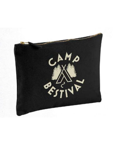 Camp Bestival 2015 'Logo' Black Pencil Case