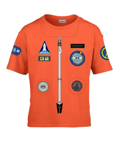 Camp Bestival 2016 (Astronaut) Youth Orange T Shirt