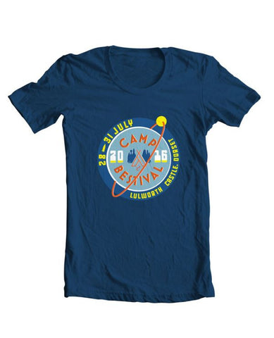 Camp Bestival 2016 'Logo Event' Navy T Shirt