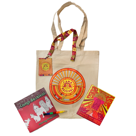 Camp Bestival 2017 Programme Pack