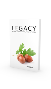 LEGACY hard backed book **PRE-ORDER**